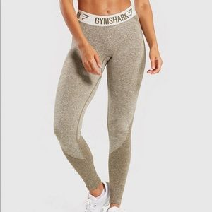 Gymshark khaki flex leggings
